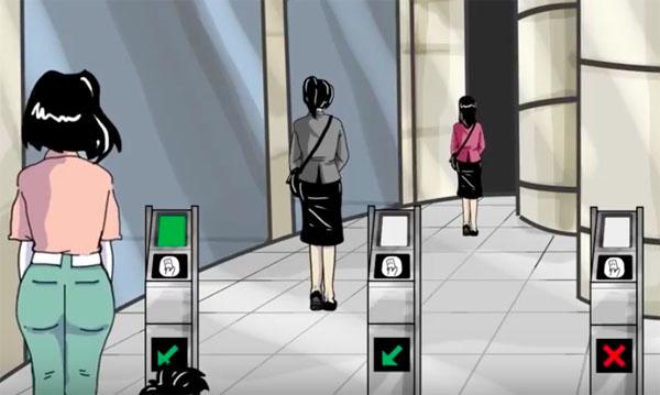 Cara Naik MRT: cara tap kartu MRT di pintu masuk MRT