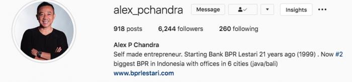 Peluang Setelah Krisis IG Live Alex P Chandra BPR Lestari